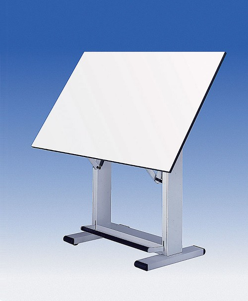 Alvin Drafting Table Elite Base Only White