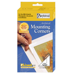 Lineco Archival Mounting Corners 1-1/4in.