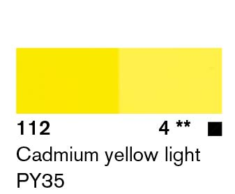 Lascaux Artist Acrylic  Cadmium Yellow Light 45ml
