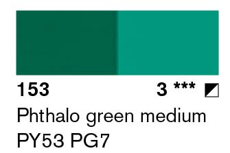 Lascaux Artist Acrylic Phthalo Green Medium 45ml