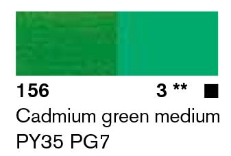 Lascaux Artist Acrylic Cadmium Green Medium 45ml