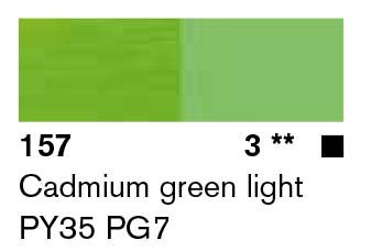 Lascaux Artist Acrylic Cadmium Green Light 45ml
