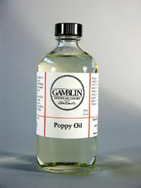 Gamblin Poppy Oil 8 oz