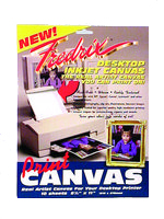 Canvas For Inkjet Printers