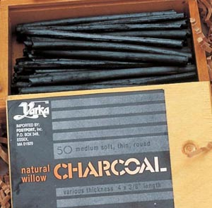 Yarka Willow Charcoal 50Pc