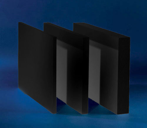 48 x 96 x 1/4 Black Ultra Plus Board 3 pack