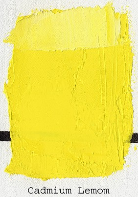 Gamblin Artist Oils 37 ml Cadmium Lemon