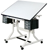 Alvin Drafting Table Craftmaster 24X40 White Top
