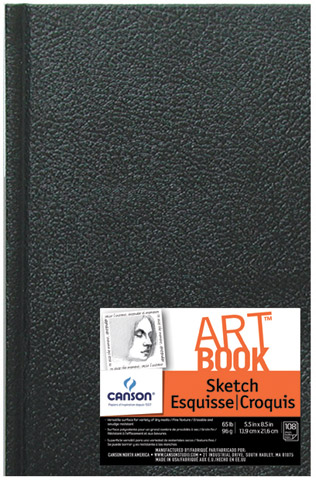 Canson Hard Cover Sketch Book 8.5 x 11