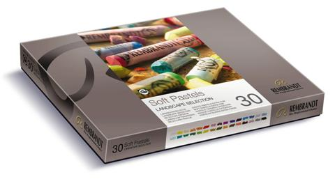 Rembrandt 30pc Soft Pastel Portrait Set