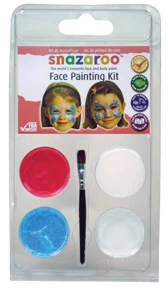 Snazaroo Face Painting Theme Mini Clam Pack Butterfly