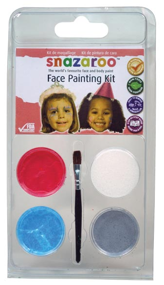 Snazaroo Face Painting Theme Mini Clam Pack Princess