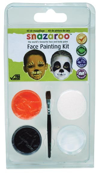 Snazaroo Face Painting Theme Mini Clam Pack Tiger