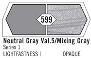 Liquitex Acrylic Paint 2oz Neutral Mixing Gray Value 5