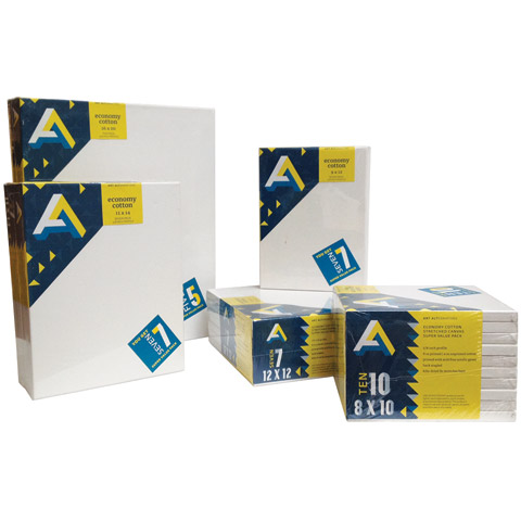 Economy Canvas Super Value Packs Art AlternativesL 11X14 7-PK