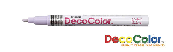 Deco Color Paint Marker Fine Point White 20013