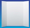Flipside Tri Fold Display Foam Board 36 x 48 Pack Of Ten