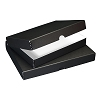 PACK OF 2 Clamshell Box Black 9X12X1.75