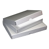PACK OF 2 Clamshell Box Metallics Silver 11X14X1.75