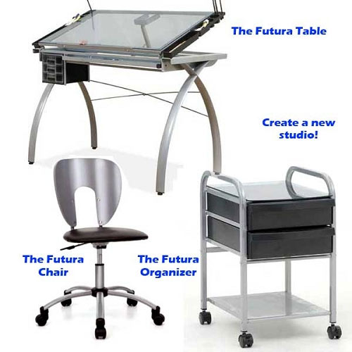 Futura Table Chair And Organizer Package