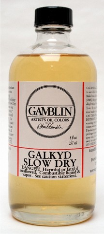 Gamblin Galkyd Slow Dry
