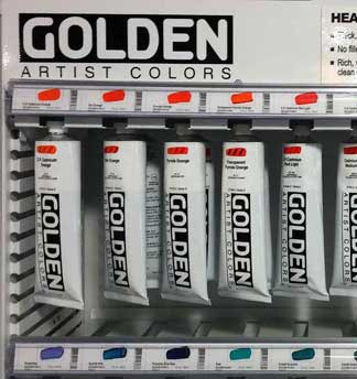Golden Heavy Body Acrylic Paint