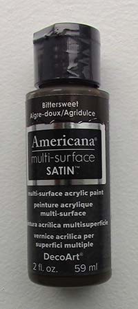 American Multi-Surface Acrylics 2 oz. Bittersweet