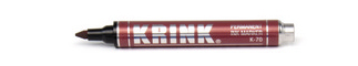 KRINK K70 JUMBO PERMANENT INK MARKER 12ML RED