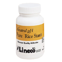 Lineco Rice Starch 8 oz. Archival Adhesive