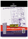 Canson Fanboy Comic Book Layout Pages  35 Sheets 8½ × 11