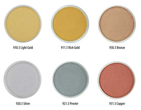 Panpastel Metallic Set Full : One Of Each Color