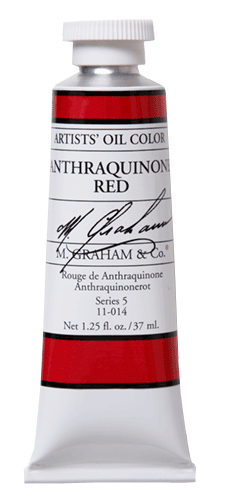 M Graham Oil Paint Anthraquinone Red 37ml
