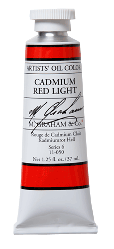 M Graham Oil Paint Cadmium Red Light 5 oz.