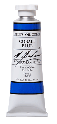 M Graham Oil Paint Cobalt Blue 37ml