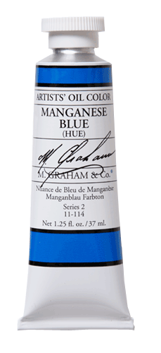 M Graham Oil Paint Blue Hue 37ml