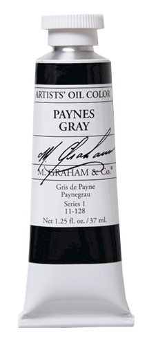 M Graham Oil Paint Paynes Gray 37ml