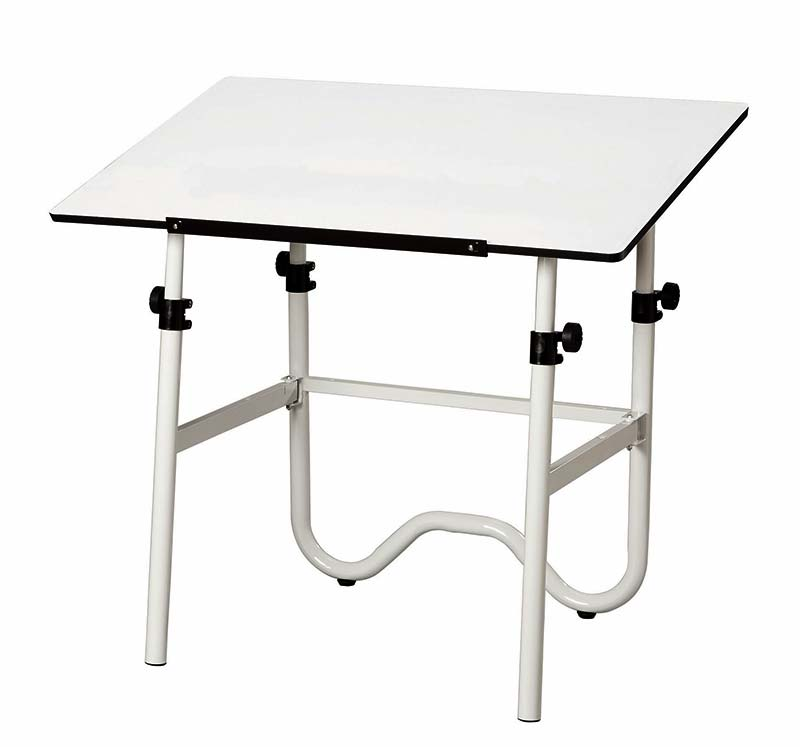 Alvin Drafting Table One Box Onyx Budget Foldaway Table