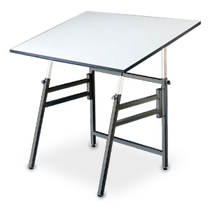 Alvin Drafting Table Professional  Black Base 31X42 Top