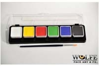Wolfe Hydrocolor Make-Up 6 Essenti Colors Palette