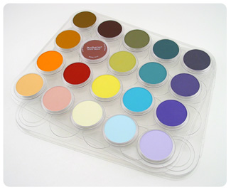 Panpastel Empty 20-Colour Tray