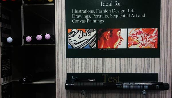 Pitt Artist Medium Fine and Superfine Pens