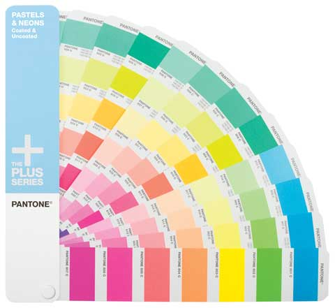 PANTONE Plus Series Premium Pastels and Neons Formula Guide Coated & Uncoated