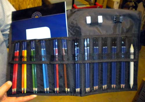 Sketch Case with Pencils