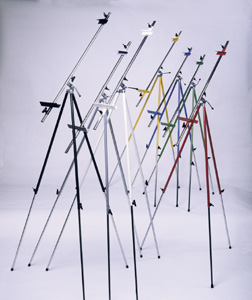 Steel Tripod Easel Red