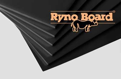 Ryno Board Black 32 x 40 x 1/4 12 pack