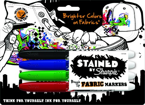 Sharpie Stained Fabric Markers 4pc set