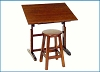 Studio Design Creative Table and Stool Set