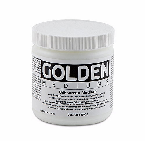Golden Silkscreen Medium 32 oz