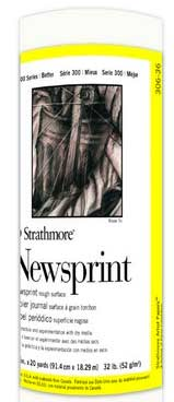 Strathmore Newsprint Roll 36in x 20yd