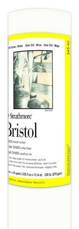 Strathmore Bristol Smoothe Surface Roll 42in x 10yd